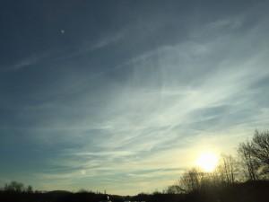 Strepen en zonnetje